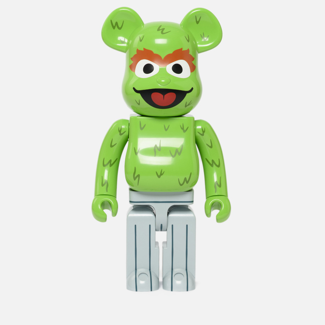 Игрушка Medicom Toy Bearbrick Oscar The Grouch 1000%