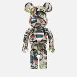 Игрушка Medicom Toy Bearbrick Phil Frost 1000% фото- 0