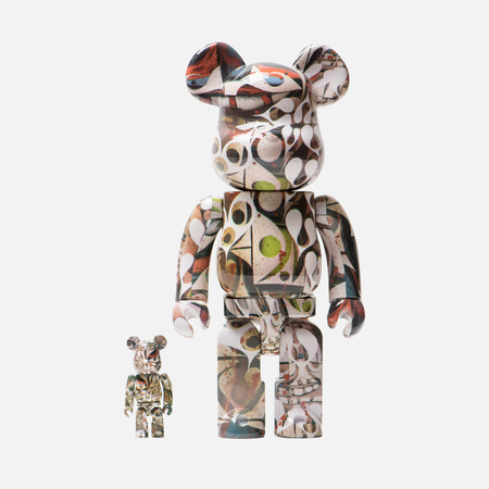 Игрушка Medicom Toy Bearbrick Phil Frost Set 100% & 400%