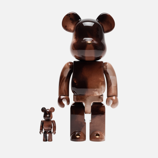 Игрушка Medicom Toy Bearbrick Pushead 4 100% & 400%