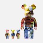 Игрушка Medicom Toy Bearbrick Pushead 4 pcs Set 100% & 400% фото- 0