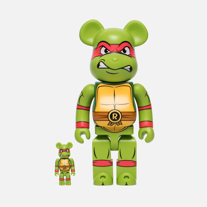 Игрушка Medicom Toy Bearbrick Raphael Set 100% & 400%