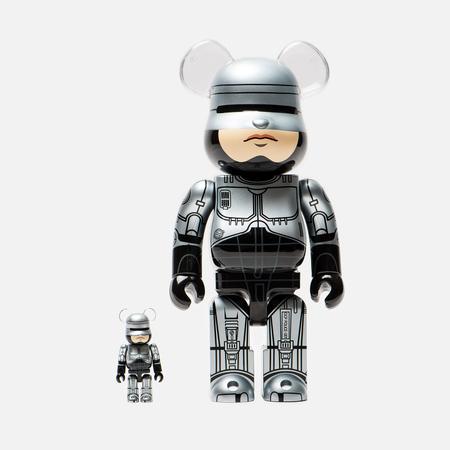 Игрушка Medicom Toy Bearbrick Robocop Set 100% & 400%