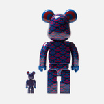 Игрушка Medicom Toy Bearbrick Sasada 100% & 400% фото- 2
