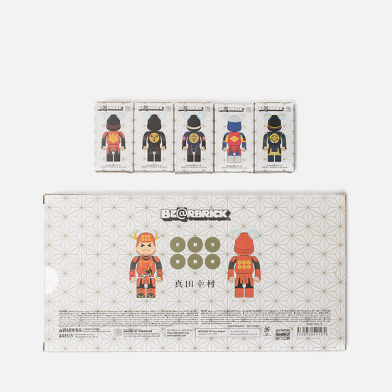Набор игрушек Medicom Toy Bearbrick Sengoku Warlords 6pcs 100%