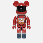 Игрушка Medicom Toy Bearbrick Space Suit Orange Version 1000% фото- 0