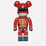 Игрушка Medicom Toy Bearbrick Space Suit Orange Version 1000% фото- 2
