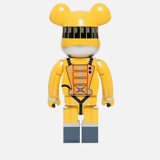 Игрушка Medicom Toy Bearbrick Space Suit Yellow 1000%