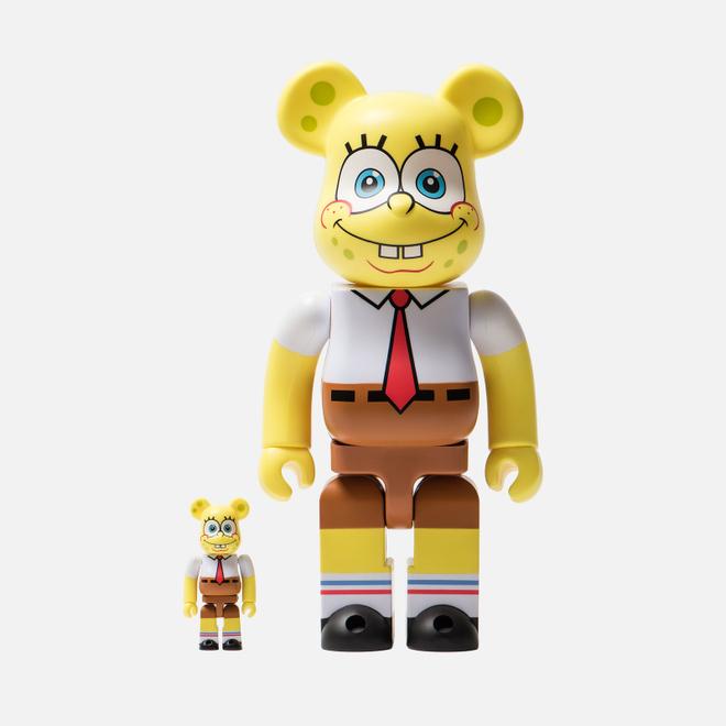 Игрушка Medicom Toy Bearbrick Sponge Bob 100% & 400%