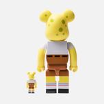 Игрушка Medicom Toy Bearbrick Sponge Bob 100% & 400% фото- 2