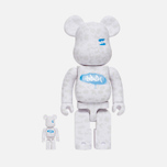 Игрушка Medicom Toy Bearbrick Stash Set 100% & 400% фото- 0