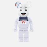 Игрушка Medicom Toy Bearbrick Stay Puft Marshmallow Man 1000% фото- 0