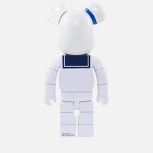 Игрушка Medicom Toy Bearbrick Stay Puft Marshmallow Man 1000% фото- 2