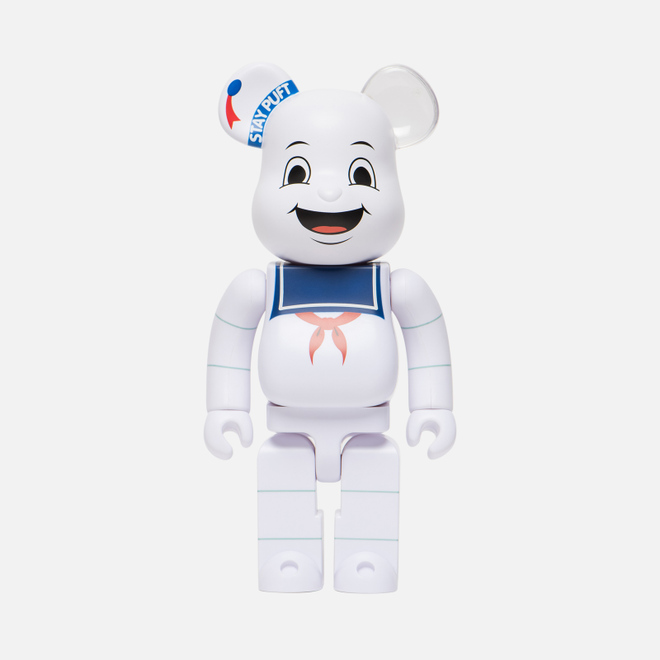Игрушка Medicom Toy Bearbrick Stay Puft Marshmallow Man 400%
