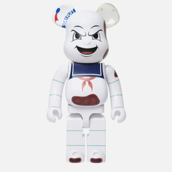 Игрушка Medicom Toy Bearbrick Stay Puft Marshmallow Man Anger Face 1000%