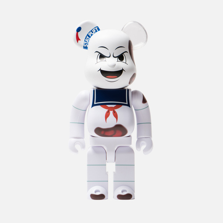 Игрушка Medicom Toy Bearbrick Stay Puft Marshmallow Man Anger Face 400%