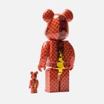 Игрушка Medicom Toy Bearbrick Steve Caballero 100% & 400% фото- 1