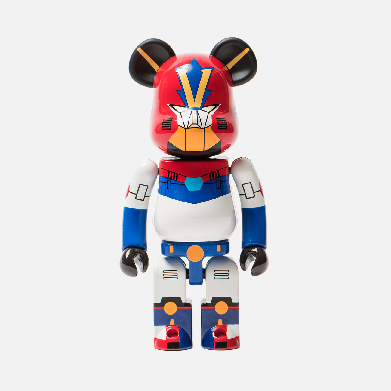Игрушка Medicom Toy Bearbrick Super Alloyed Combattler V 200%