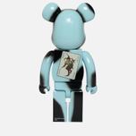 Игрушка Medicom Toy Bearbrick The Joker Why So Serious Version 1000% фото- 2