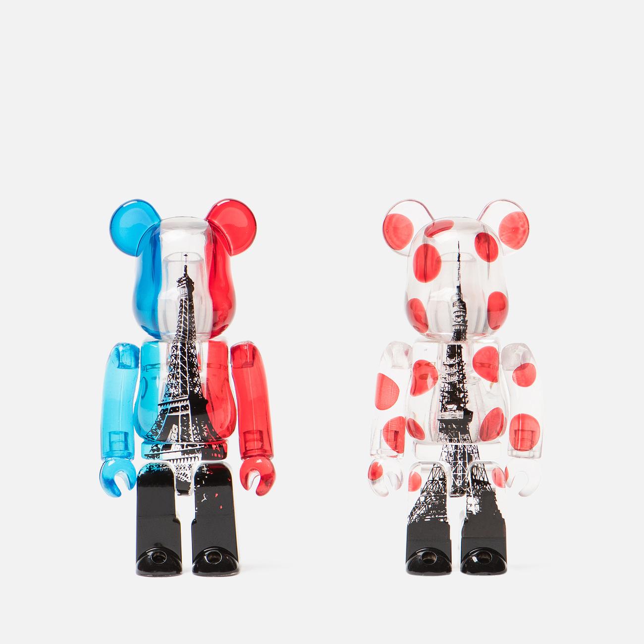 Игрушка Medicom Toy Bearbrick Tokyo Tower & Eiffel Tower 100%