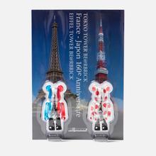 Игрушка Medicom Toy Bearbrick Tokyo Tower & Eiffel Tower 100% фото- 3
