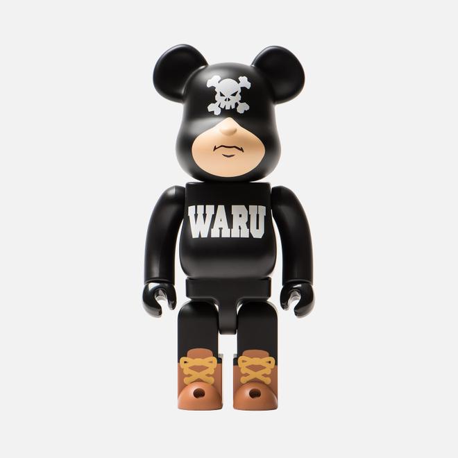 Игрушка Medicom Toy Bearbrick Tokyo Tribe Waru Black 400%