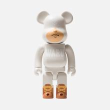 Игрушка Medicom Toy Bearbrick Tokyo Tribe Waru White 400% фото- 0