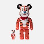 Игрушка Medicom Toy Bearbrick Tony The Tiger 100% & 400% фото- 0