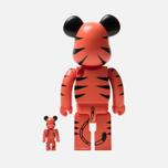 Игрушка Medicom Toy Bearbrick Tony The Tiger 100% & 400% фото- 2