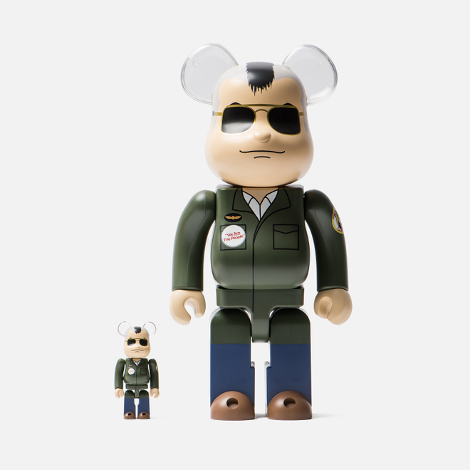Игрушка Medicom Toy Bearbrick Travis Bickle 100% & 400%