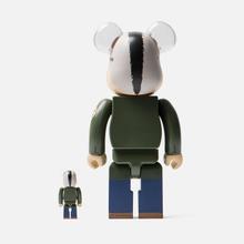 Игрушка Medicom Toy Bearbrick Travis Bickle 100% & 400% фото- 2