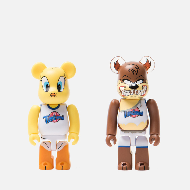 Игрушка Medicom Toy Bearbrick Tweety & Tasmanian Devil 2-Pack 100%