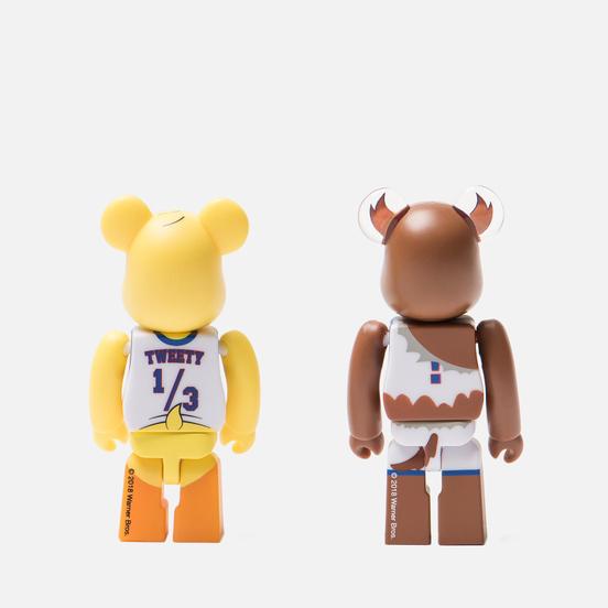 Игрушка Medicom Toy Bearbrick Tweety & Tasmanian Devil 2-Pack 100%