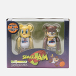 Игрушка Medicom Toy Bearbrick Tweety & Tasmanian Devil 2-Pack 100% фото- 3