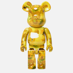 Игрушка Medicom Toy Bearbrick Van Gogh Museum Sunflowers 1000%