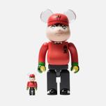 Игрушка Medicom Toy Bearbrick Wakabayashi Genzo 100% & 400% фото- 0