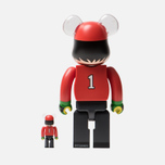 Игрушка Medicom Toy Bearbrick Wakabayashi Genzo 100% & 400% фото- 2