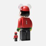Игрушка Medicom Toy Bearbrick Wakabayashi Genzo 100% & 400% фото- 1