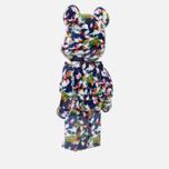 Игрушка Medicom Toy Bearbrick x Mika Ninagawa Gold Fish 1000% фото- 1