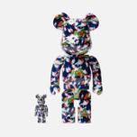 Игрушка Medicom Toy Bearbrick x Mika Ninagawa Gold Fish Set 100% & 400% фото- 0