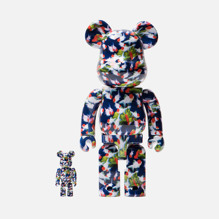 Игрушка Medicom Toy Bearbrick x Mika Ninagawa Gold Fish Set 100% & 400%
