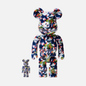 Игрушка Medicom Toy Bearbrick x Mika Ninagawa Gold Fish Set 100% & 400% фото - 0