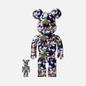 Игрушка Medicom Toy Bearbrick x Mika Ninagawa Gold Fish Set 100% & 400% фото - 2