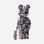Игрушка Medicom Toy Bearbrick x Mika Ninagawa Gold Fish Set 100% & 400% фото- 1