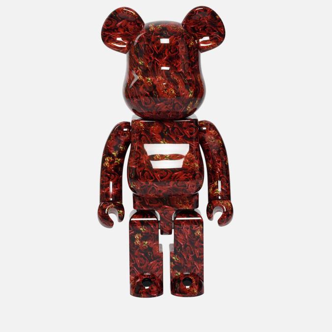 Игрушка Medicom Toy Bearbrick x Mika Ninagawa Leather Rose 1000%