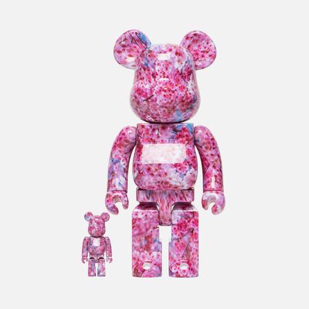 Игрушка Medicom Toy Bearbrick x Mika Ninagawa Sakura Set Version 100% & 400%