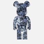 Игрушка Medicom Toy Bearbrick x Mika Ninagawa Yosakura 1000% фото- 2