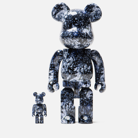 Игрушка Medicom Toy Bearbrick x Mika Ninagawa Yosakura Set 100% & 400%