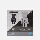 Игрушка Medicom Toy Bearbrick x nanoblock TM 2-Pack Set B фото- 0