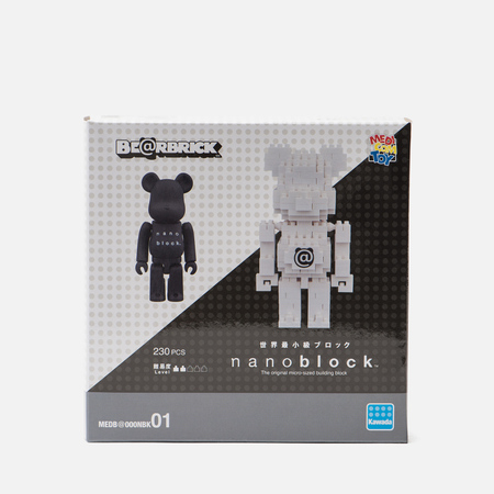 Игрушка Medicom Toy Bearbrick x nanoblock TM 2-Pack Set B